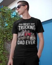 Men Trucking Best Trucking Dad Ever Classic T-Shirt apparel-classic-tshirt-lifestyle-17