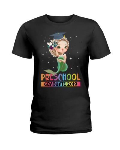 Kids Preschool Graduate 2019 Cute Gift Mermaid