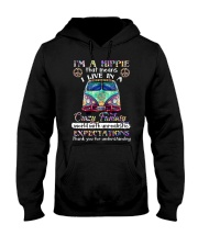 I'm A Hippie That Means I Live In A Crazy Fantasy Hooded Sweatshirt thumbnail