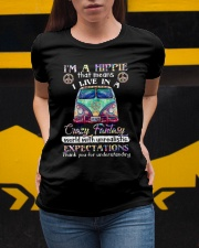 I'm A Hippie That Means I Live In A Crazy Fantasy Ladies T-Shirt apparel-ladies-t-shirt-lifestyle-04