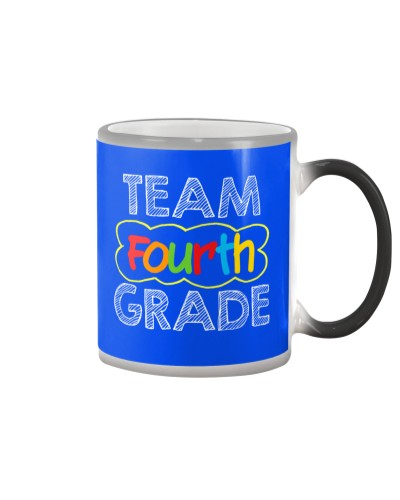 Team 4th Fourth Grade Teacher Student Back School