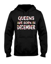 QUEENS ARE BORN IN DECEMBER Hooded Sweatshirt thumbnail