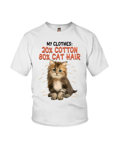 My Clothes 20 Cotton 80 Cat Hair