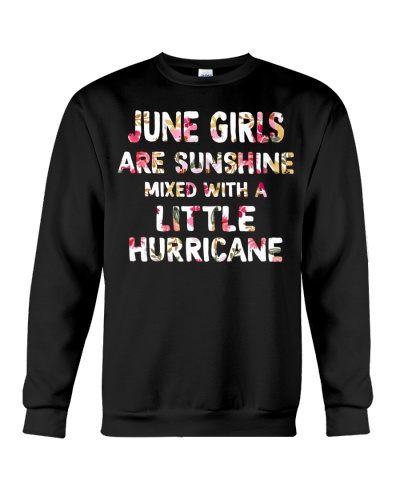 JUNE GIRL SUNSHINE MIXED WITH LITTLE HURRICANE