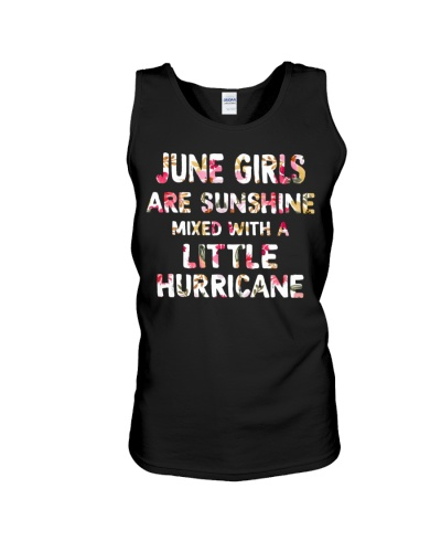 JUNE GIRL SUNSHINE MIXED WITH LITTLE HURRICANE