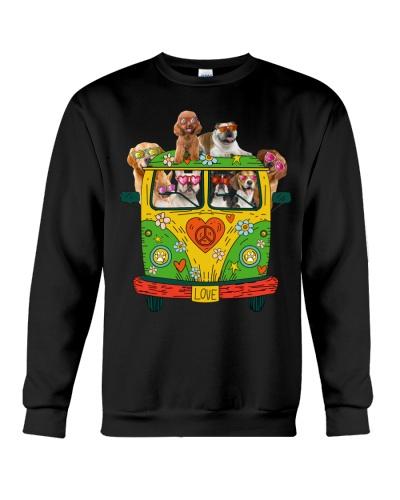 Peace Love Dogs Hippie Van Gift