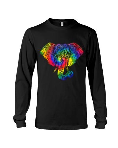 Mandala Tie Dye Elephant