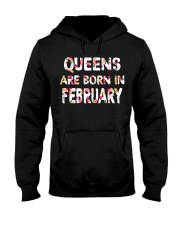 QUEENS ARE BORN IN FEBRUARY Hooded Sweatshirt thumbnail