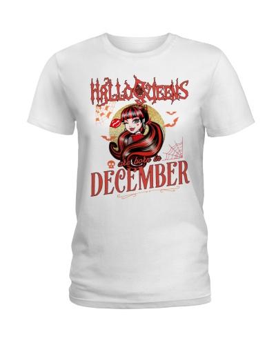 HALLOQUEENS ARE BORN IN DECEMBER