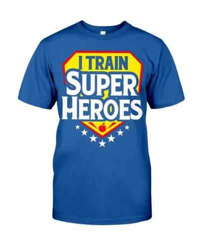 I TRAIN SUPER HEROES