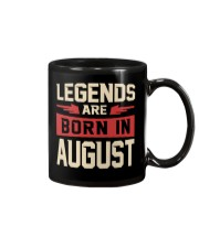 LEGENDS ARE BORN IN AUGUST Mug tile