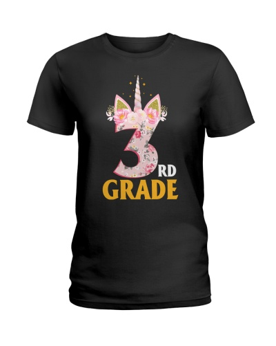 3rd Grade Squad Back To School Teachers Unicorn