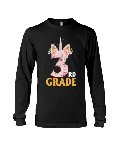 3rd Grade Squad Back To School Teachers Unicorn