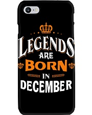 LEGENDS ARE BORN IN DECEMBER Phone Case thumbnail