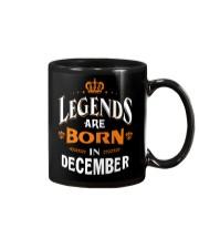 LEGENDS ARE BORN IN DECEMBER Mug thumbnail