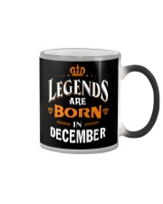 LEGENDS ARE BORN IN DECEMBER Color Changing Mug thumbnail