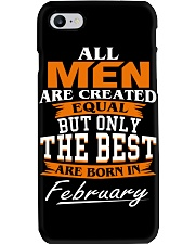 ONLY THE BEST ARE BORN IN FEBRUARY Phone Case thumbnail