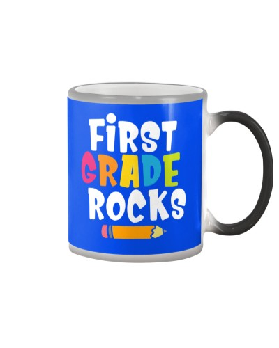 First Grade Rocks Back To School 1st Grade Teacher