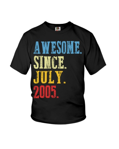 Awesome Since July 2005 14th Birthday