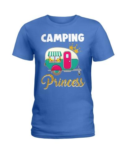 Camping Princess Cute Camper For Women Girl