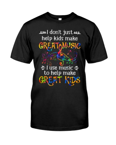 I Use Music To Help Make Great Kids