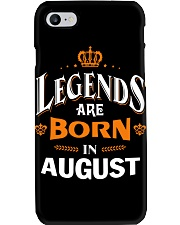LEGENDS ARE BORN IN AUGUST Phone Case thumbnail