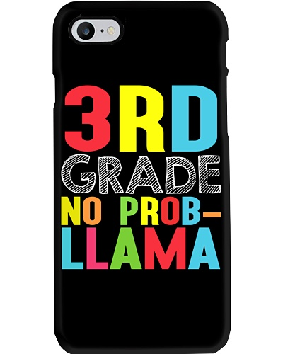 3rd Grade No Prob-Llama Llama Apparel First Day