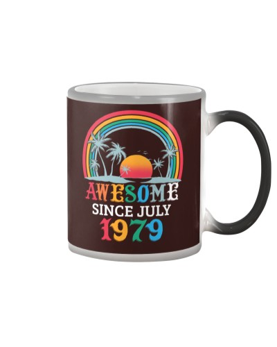 Awesome Since July 1979 40th Birthday Gifts