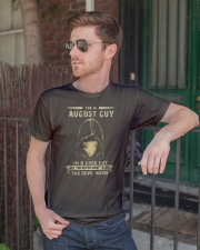 AUGUST GUY Classic T-Shirt lifestyle-mens-crewneck-front-2