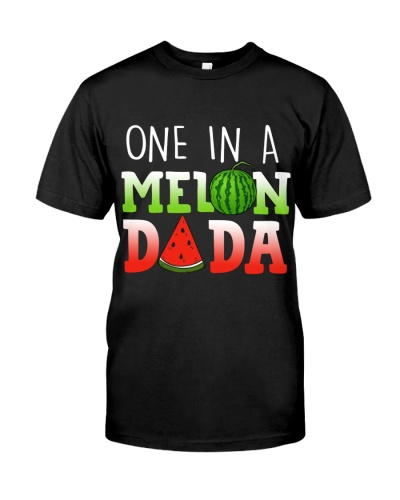 Mens One In A Melon Dada Funny Watermelon