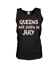 QUEENS ARE BORN IN JULY Unisex Tank tile