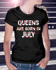 QUEENS ARE BORN IN JULY Ladies T-Shirt lifestyle-women-crewneck-front-7