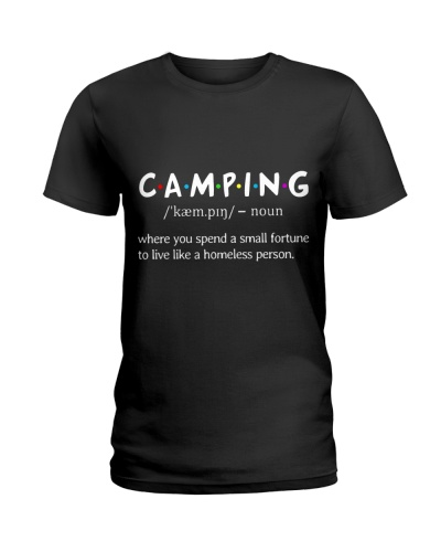 Camping Definition Camper Lovers Gift