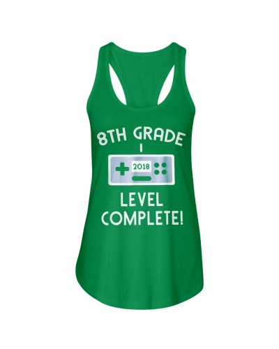 8th Grade Graduation Shirt Level Complete Video G