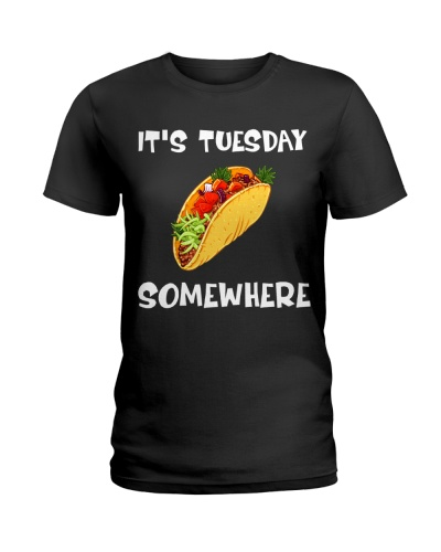 It's Tuesday Somewhere Tuesday Hot Dog Day Gift