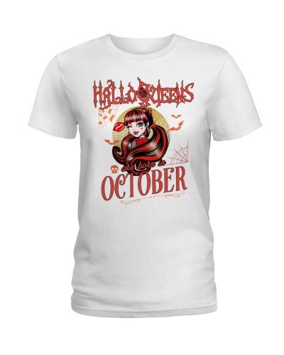 HALLOQUEENS ARE BORN IN OCTOBER