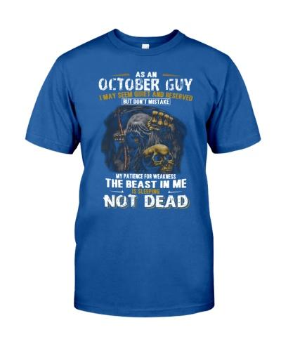 AS AN OCTOBER GUY