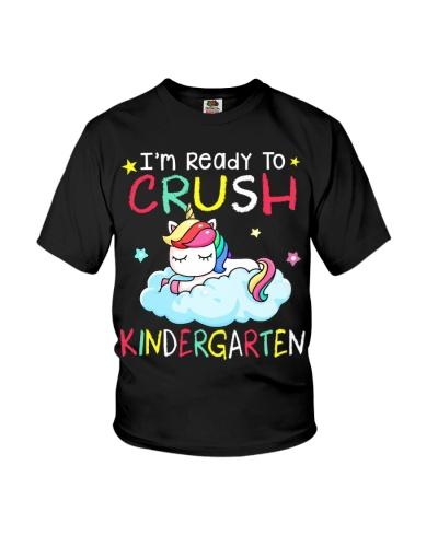 I'm Ready To Crush Kindergarten Baby Unicorn