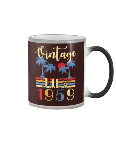 Vintage July 1959 60th Birthday 60 Years Old Gift