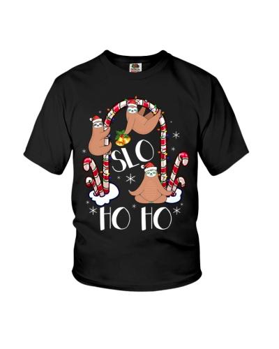 Slo Ho Ho Ho Funny Sloth Christmas In July