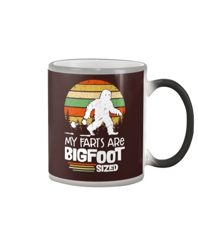 My Farts Are Bigfoot Sized Funny Sasquatch