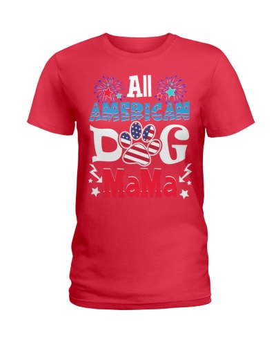 All American Dog Mama 4th Of July