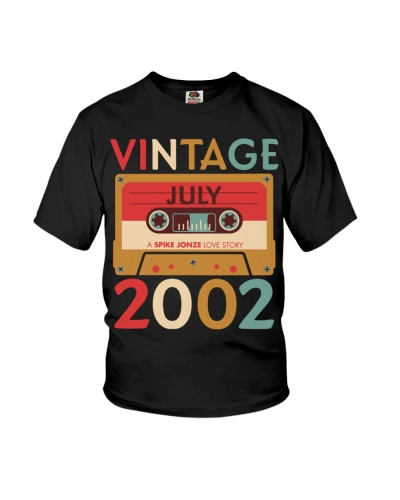 Vintage July 2002 17th Birthday Gift 17 Years
