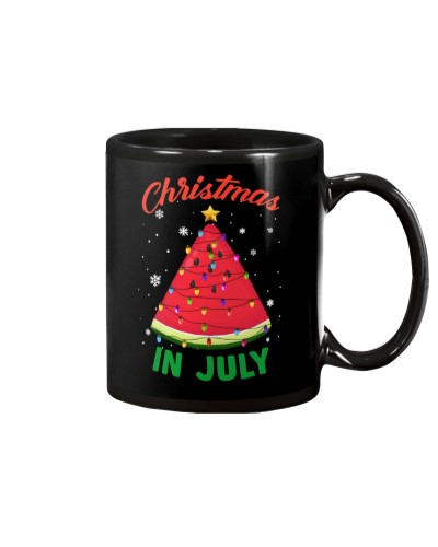 Christmas In July Melon Christmas Tree