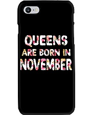 QUEENS ARE BORN IN NOVEMBER Phone Case thumbnail