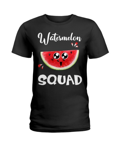 Watermelon Squad Tropical Fruit Summer Holiday