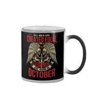 LEGENDS ARE BORN IN OCTOBER Color Changing Mug thumbnail