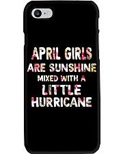 APRIL GIRL SUNSHINE MIXED WTH LITTLE HURRICANE Phone Case thumbnail
