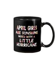 APRIL GIRL SUNSHINE MIXED WTH LITTLE HURRICANE Mug thumbnail