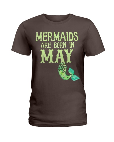 MERMAIDS ARE BORN IN MAY